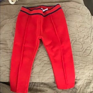Janie and Jack Red Leggings